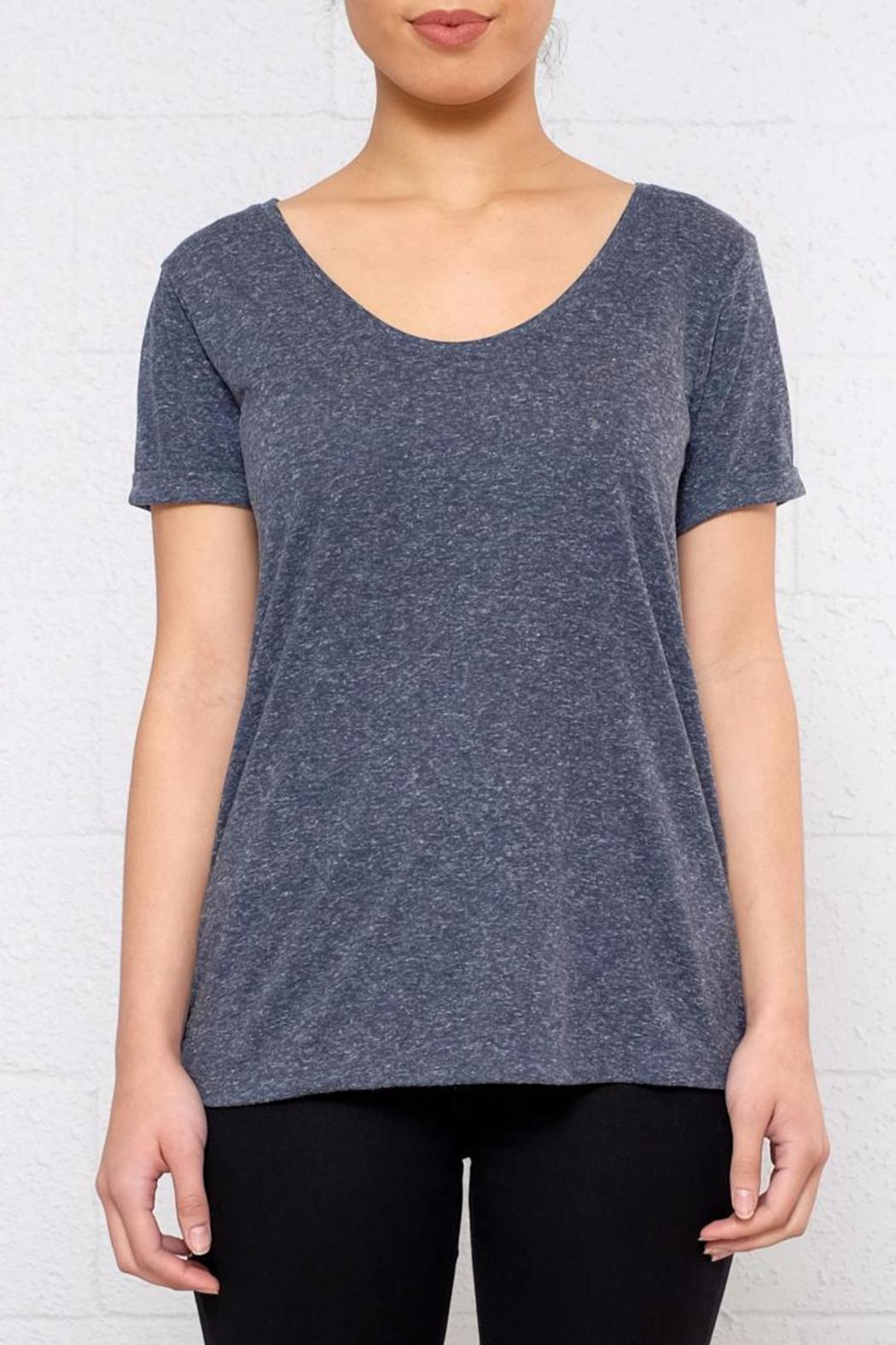 jacqueline de yong v neck tee from vancouver by 8th main shoptiques. Black Bedroom Furniture Sets. Home Design Ideas