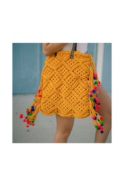 Virginia Wolf Jada Macrame Bag - Product Mini Image