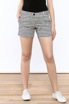 Shoptiques Product: Fun Checkered Shorts
