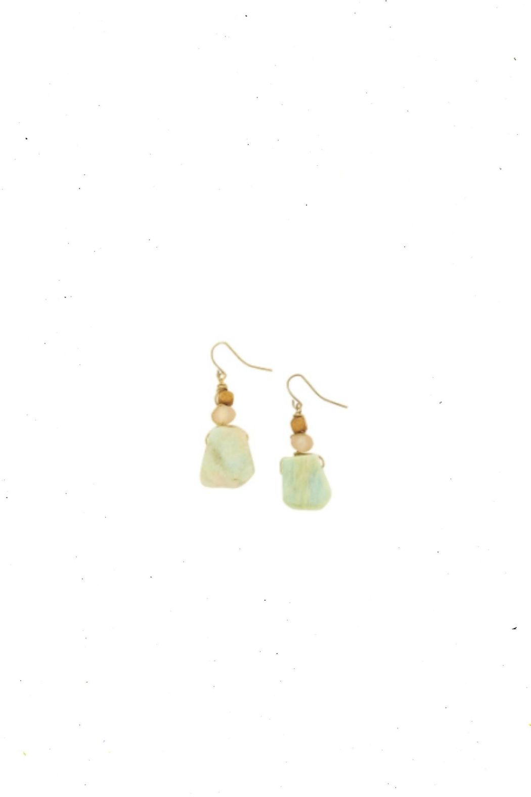 bops Jade Earrings - Front Cropped Image