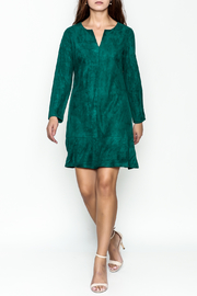 Jade Faux Suede Dress - Side cropped
