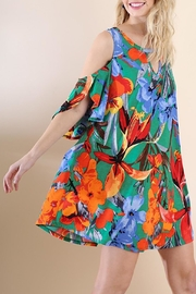 Umgee USA Jade Floral-Print Dress - Product Mini Image