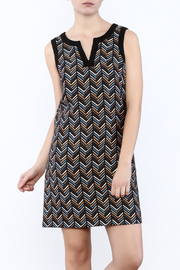 Jade Herringbone Dress - Product Mini Image