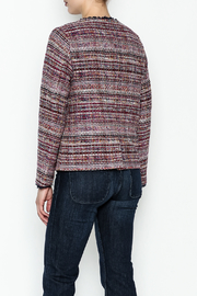 Jade Multi Tweed Jacket - Back cropped