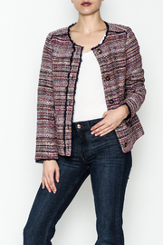 Jade Multi Tweed Jacket - Product Mini Image