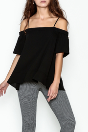 Jade Cold Shoulder Swing Top - Product Mini Image