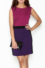 Jade Ponte Knit Dress - Product Mini Image