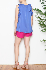 Jade Ruffle Edged Top - Other