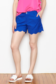 Jade Shorts Scallop Hem - Product Mini Image