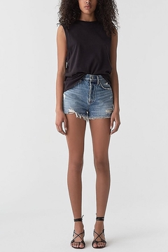 AGOLDE Jaden Denim Short in Surreal - Product List Image