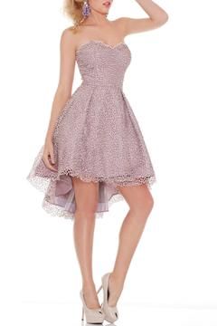 Shoptiques Product: Strapless Sweetheart High Low