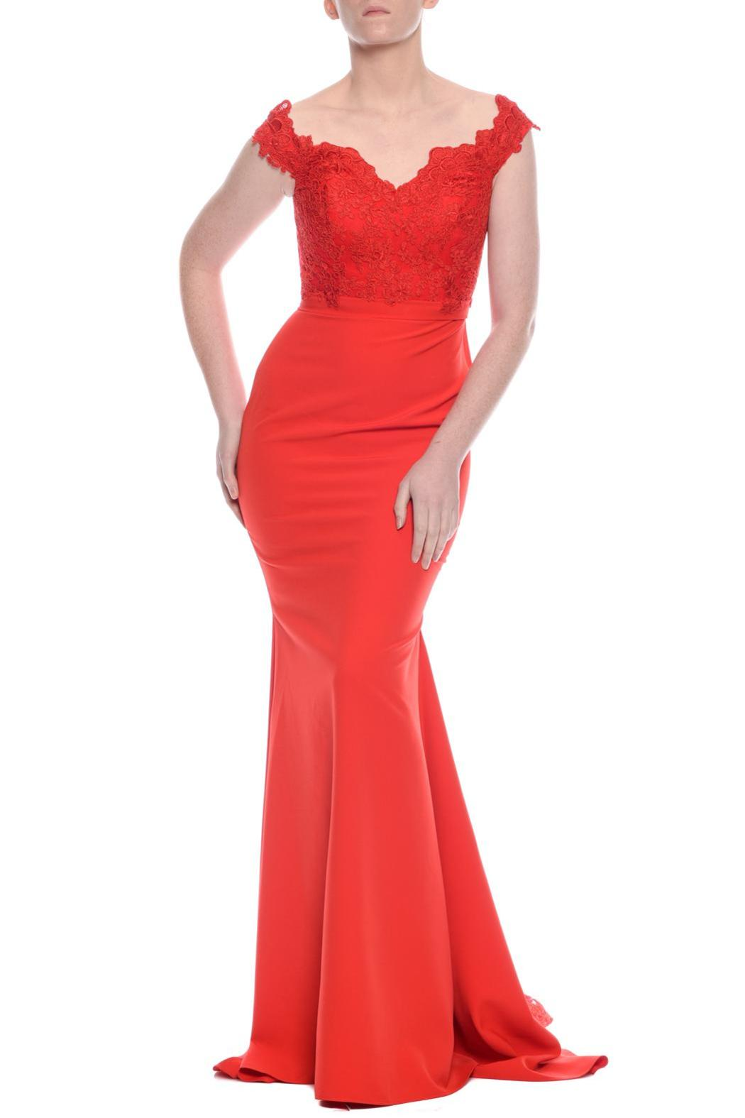 Jadore Vogue Gown - Side Cropped Image