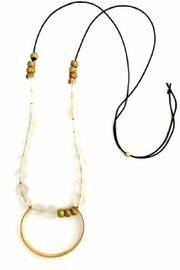 Boho Gal Jael Crystal Beads - Front full body