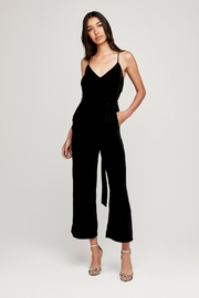 L'Agence Jaelyn Velvet Jumpsuit - Product Mini Image