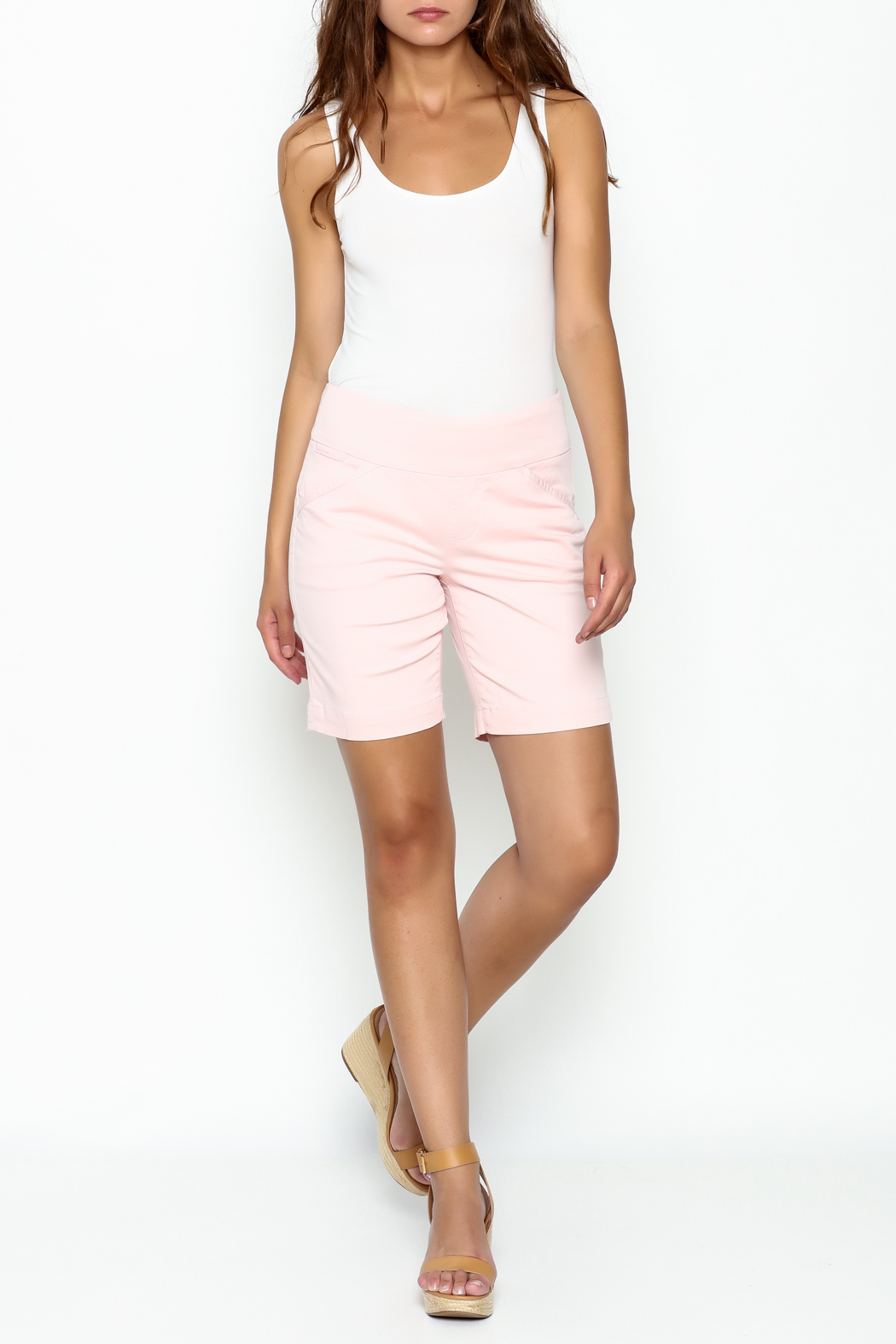 JAG Bermuda Shorts Pull On - Side Cropped Image