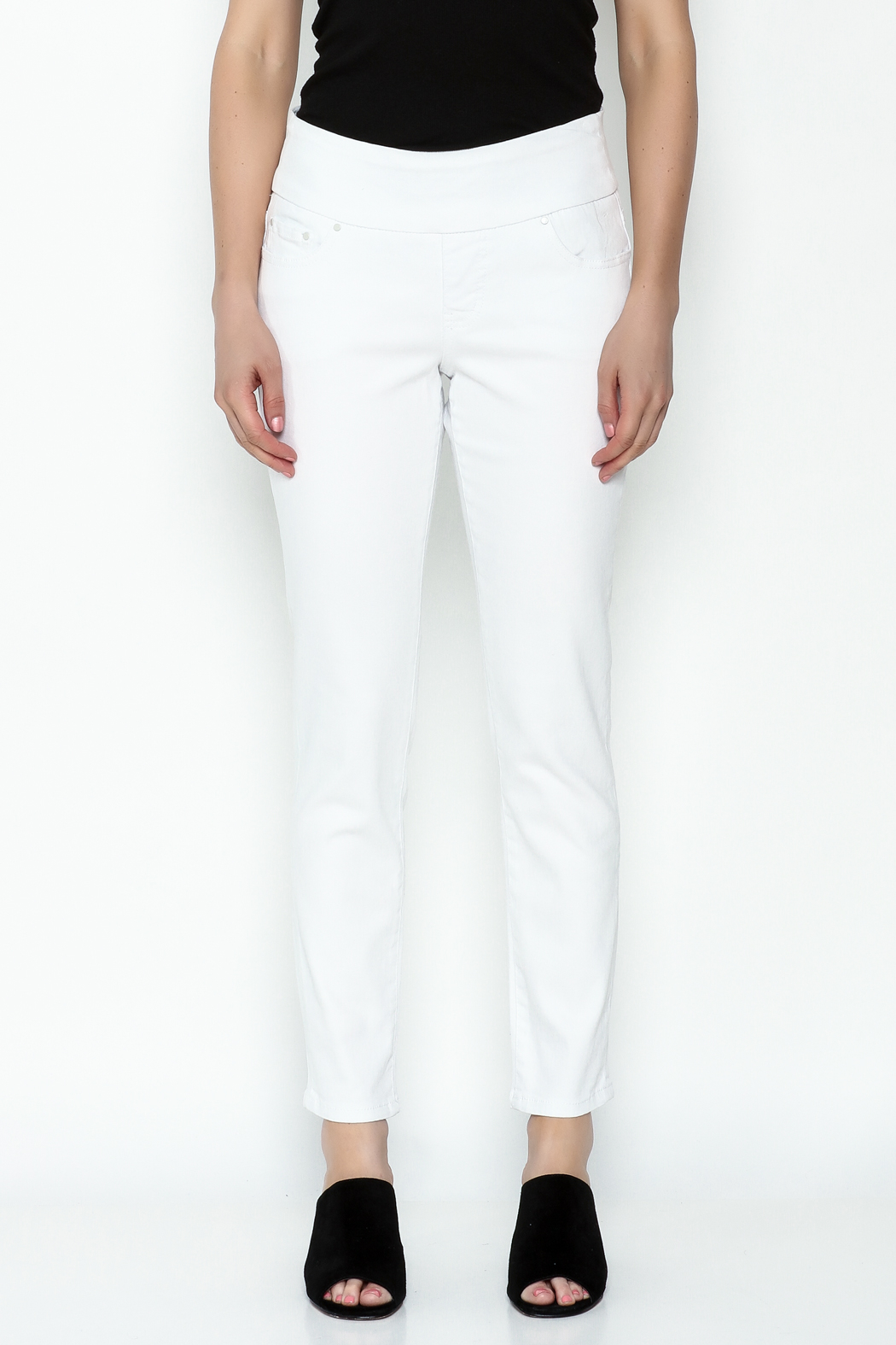 JAG Amelia Ankle Pants - Front Full Image