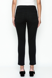 JAG Black Skinny Jeans - Back cropped