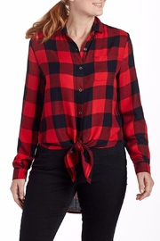 JAG Plaid Blouse Tunic - Side cropped