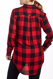 JAG Plaid Blouse Tunic - Front full body