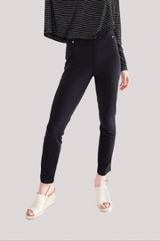 JAG Pull On Black Pants - Front cropped