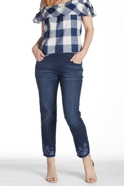 JAG Jeans Embroidered Ankle Jeans - Product Mini Image