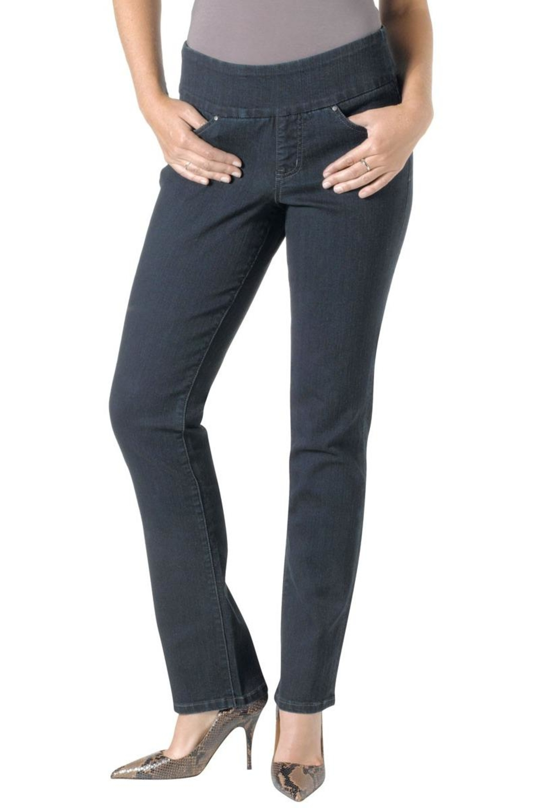 JAG Jeans Straight Stretch Jeans - Main Image