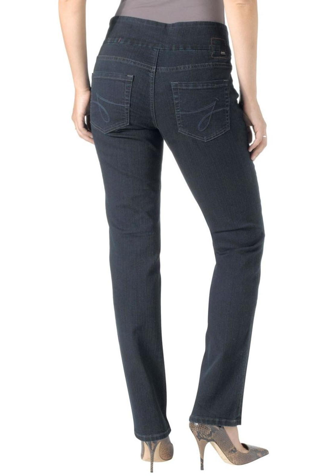 JAG Jeans Straight Stretch Jeans - Front Full Image
