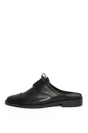 Jaggar Black Oxford Mule - Product Mini Image
