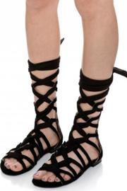 Jaggar Zigzag Ribbon Sandal - Back cropped