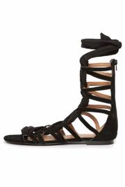 Jaggar Zigzag Ribbon Sandal - Side cropped