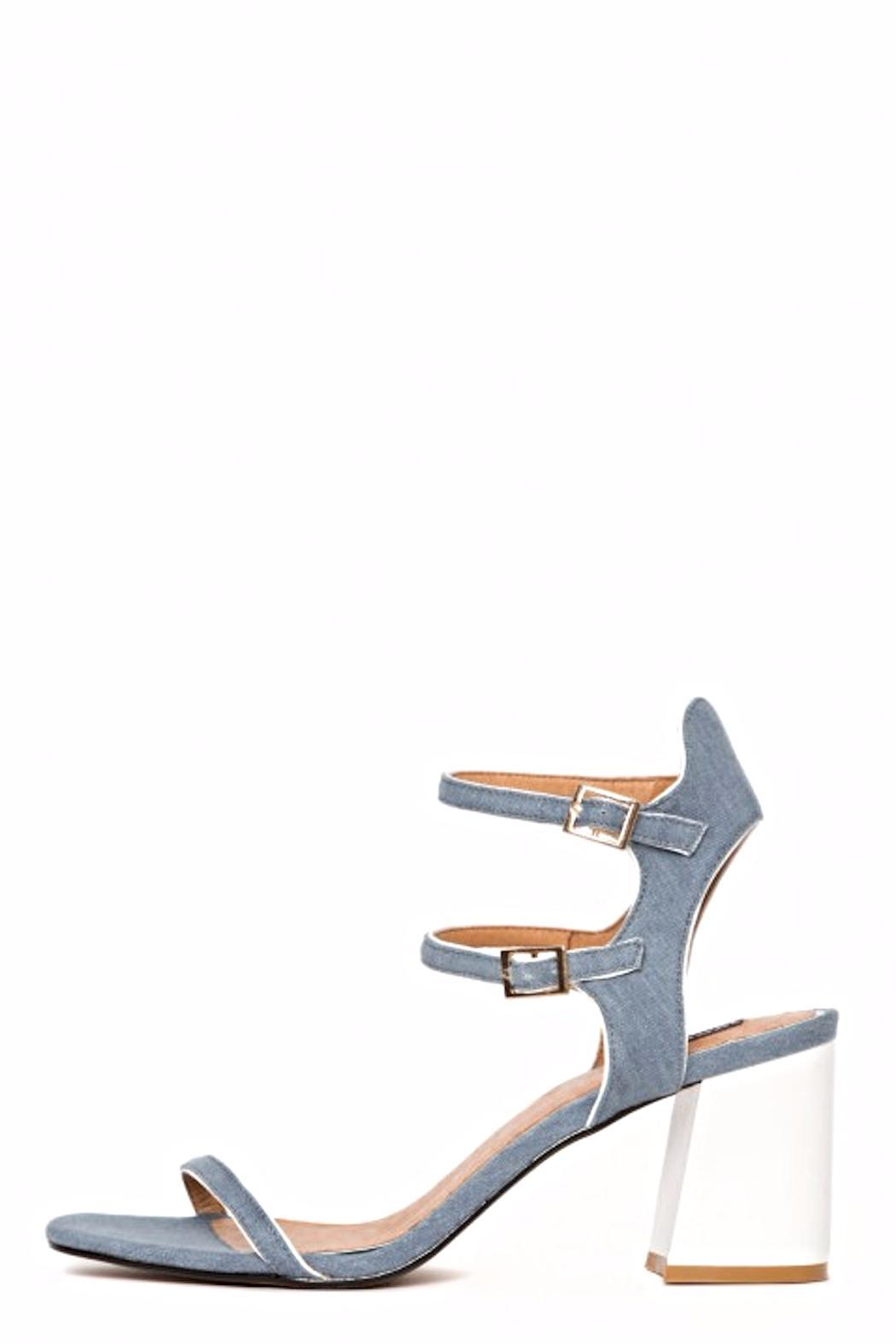 Denim Projection Heel