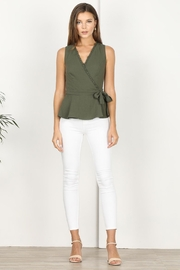 Adelyn Rae Jaime Woven Wrap Top - Other