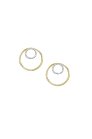 Jaimie Nicole Gold Hoop Earrings - Product Mini Image