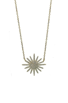 Jaimie Nicole Gold Starburst Necklace - Product List Image