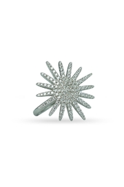Jaimie Nicole Large-Silver Starburst Ring - Product Mini Image