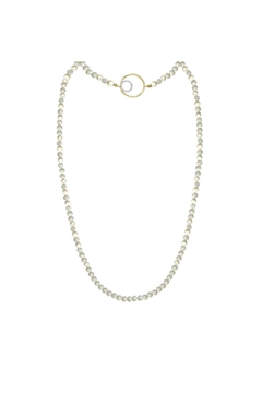 Shoptiques Product: Pearl Asymmetrical Necklace