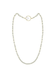 Jaimie Nicole Pearl Asymmetrical Necklace - Product Mini Image