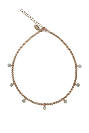 Jaimie Nicole Rose-Gold Charm Choker - Product Mini Image
