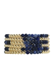 Jaimie Nicole Blue Bracelet Set - Product Mini Image