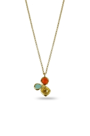 Jaimie Nicole Warm Charm Necklace - Product Mini Image