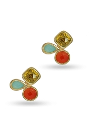 Jaimie Nicole Warm Stud Earrings - Product Mini Image