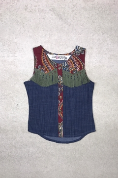 Shoptiques Product: Olive Chambray Top