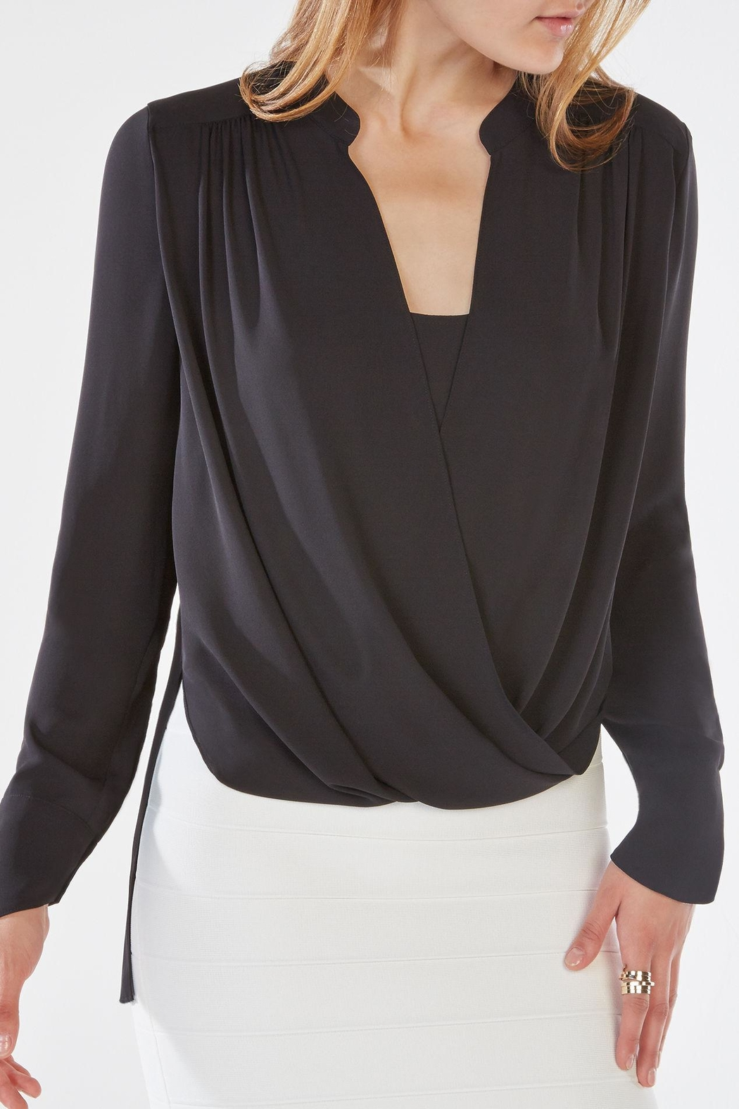BCBG Max Azria Jaklyn Top - Front Cropped Image