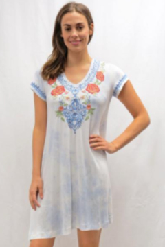 Caite Jalyn Embroidered Tee Dress - Product List Image