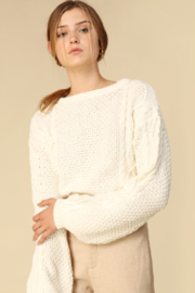 Line & Dot James Tie Back Sweater - Product Mini Image