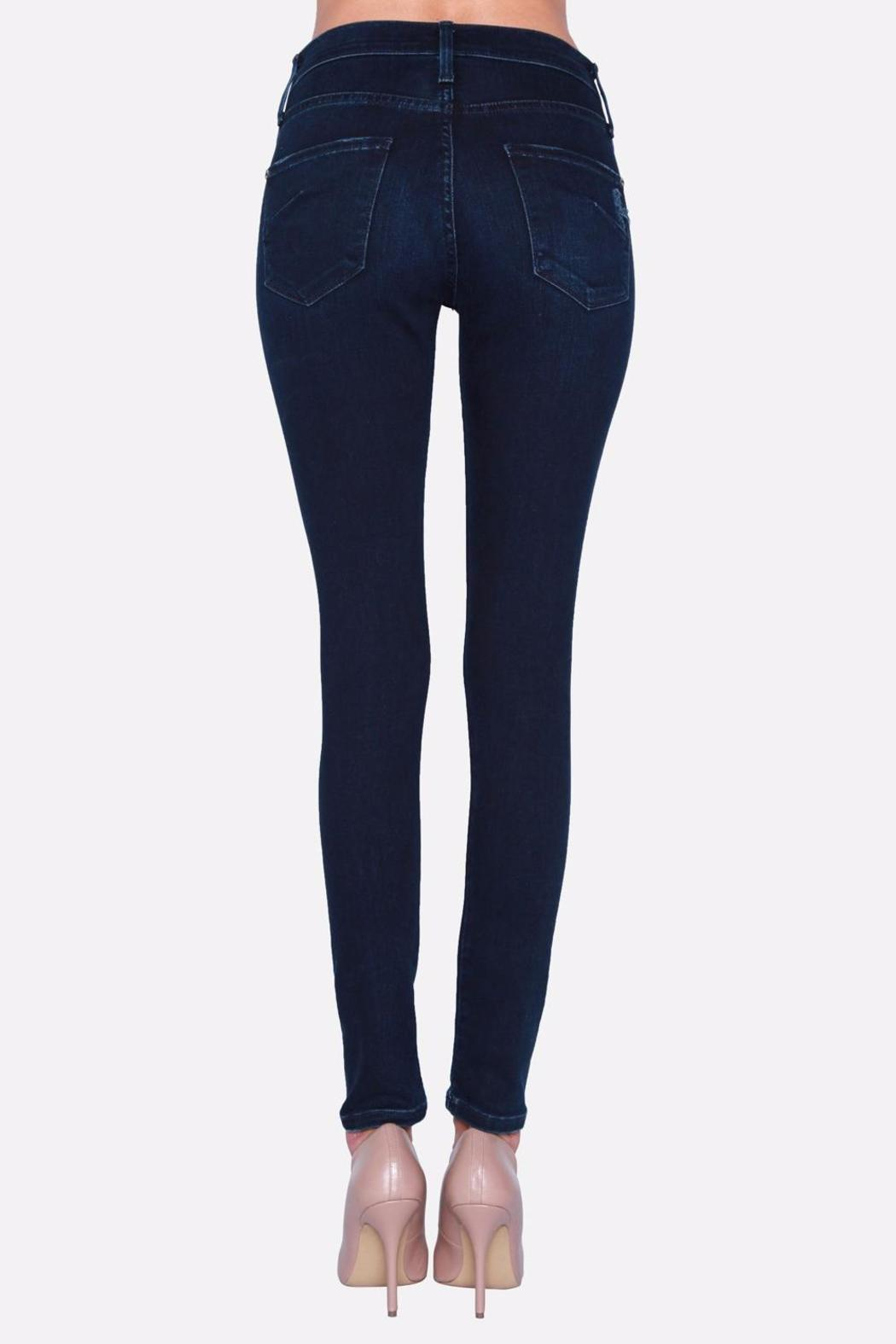 James Jeans Skinny Distressed Jeggings - Front Full Image