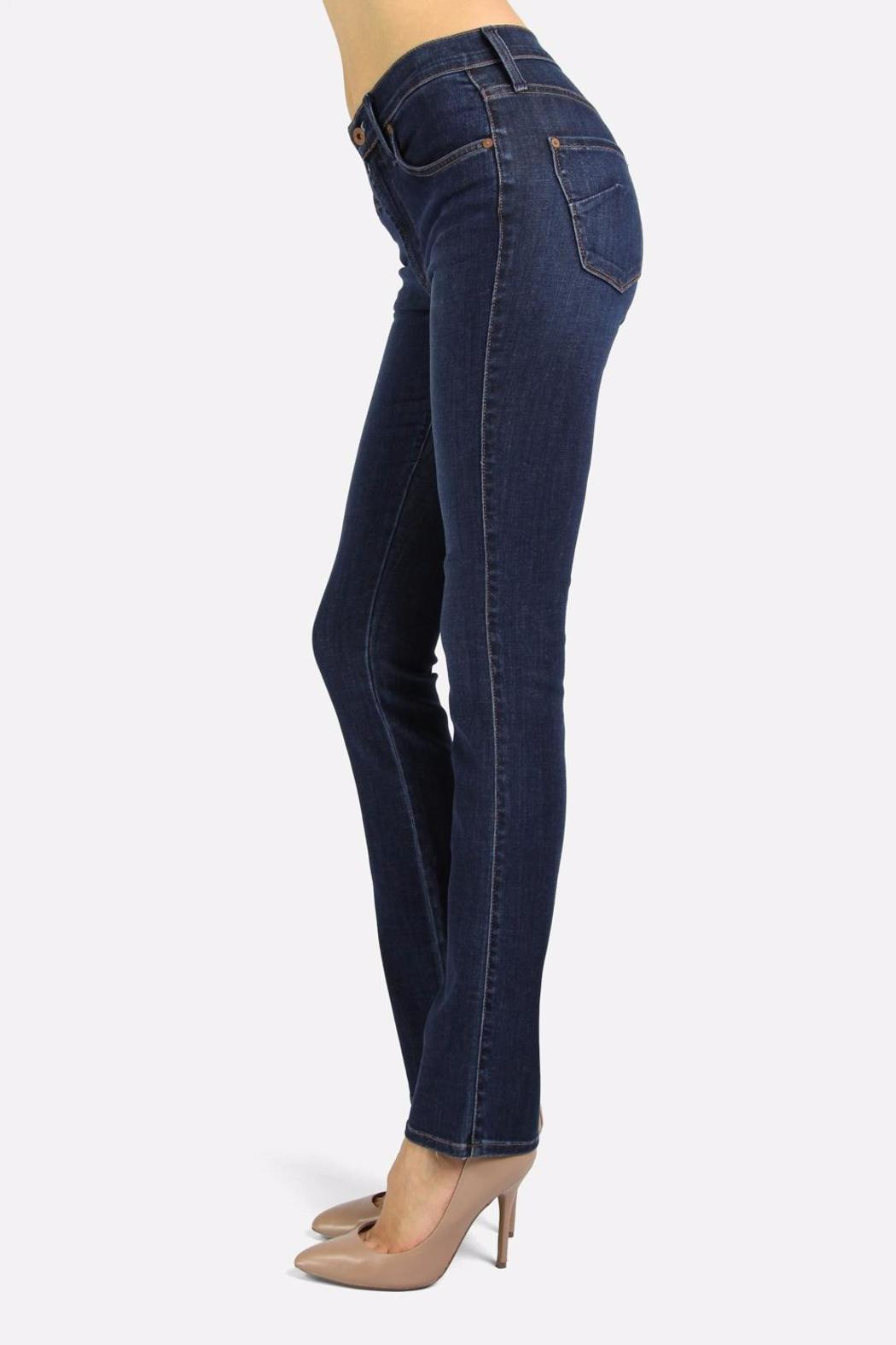 James Jeans Straight Blue Jean - Front Full Image