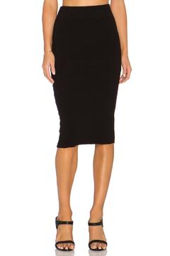 James Perse Heavy Rib Skirt - Product List Image