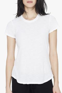 James Perse White Crew Tee - Product List Image