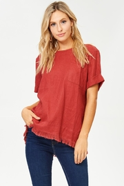 Jane Jamie Fringe Top - Product Mini Image